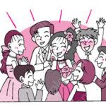 ビジネスマナーイラスト(冠婚葬祭)