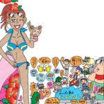 沖縄旅行パンフレットイラスト3